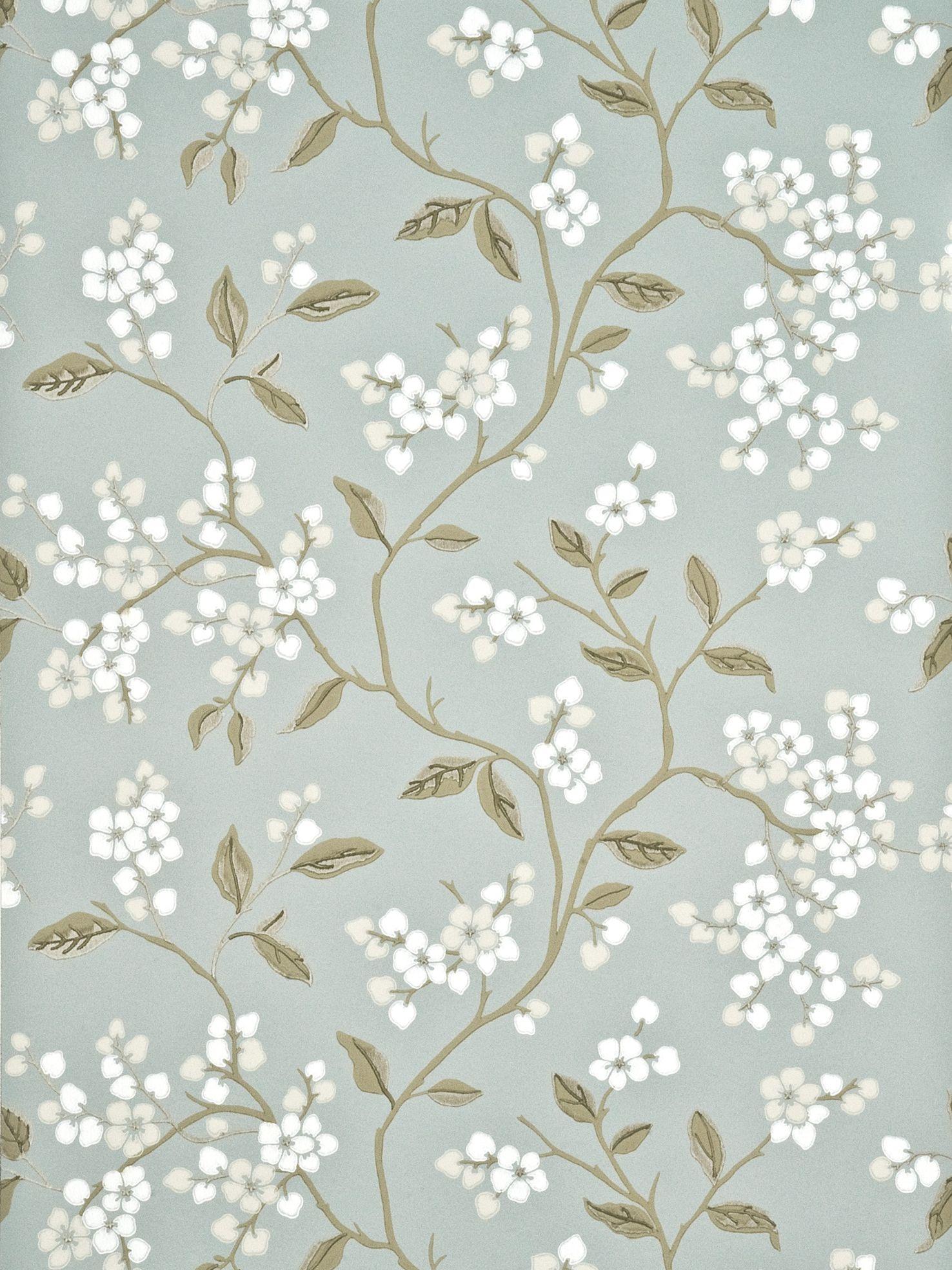 GP & J Baker GP & J Baker Apple Blossom Wallpaper