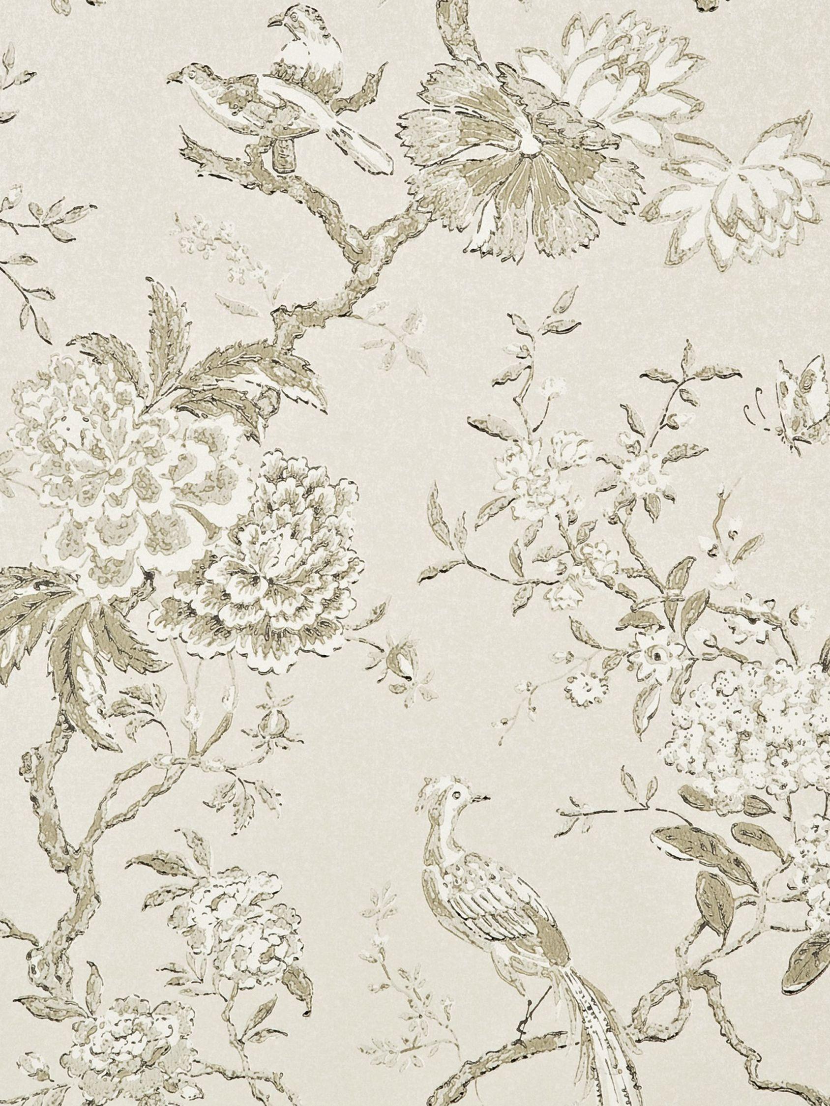 GP & J Baker GP & J Baker Oriental Bird Wallpaper
