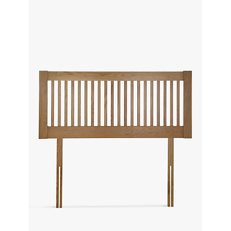 buy john lewis cannes wooden headboard, oak, king size  john lewis, Headboard designs