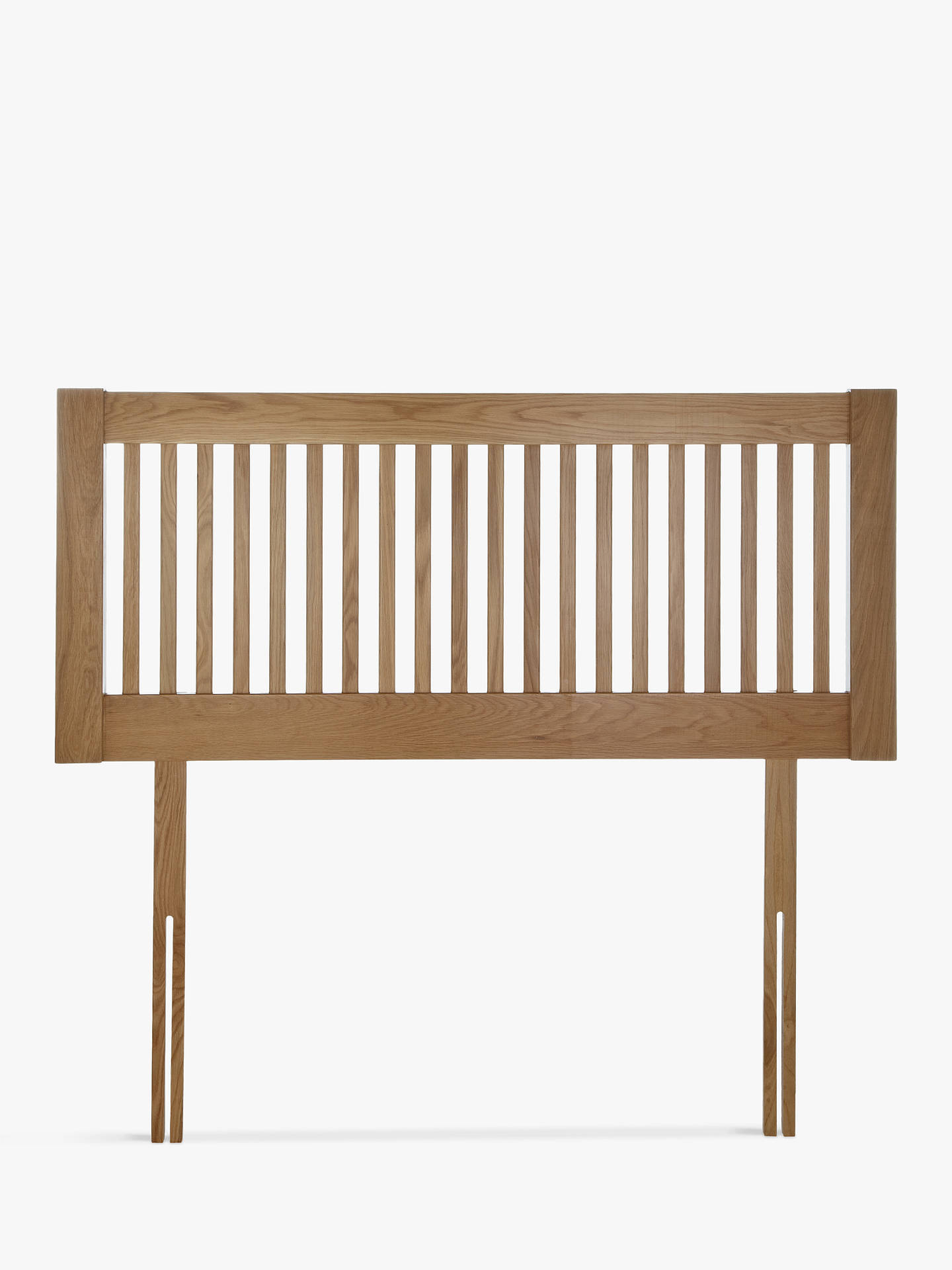 king size wood headboard plans buyjohn lewis partners cannes wooden headboard oak king size online at johnlewis john