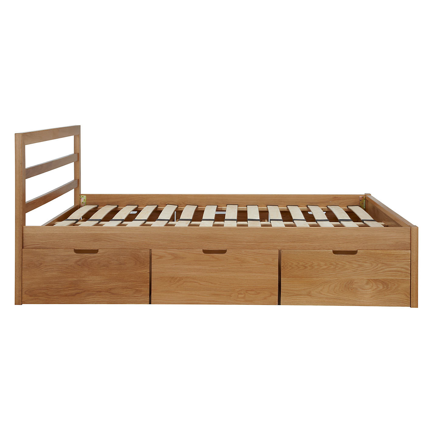 buy house by john lewis ollie storage bed king size oak online at johnlewis