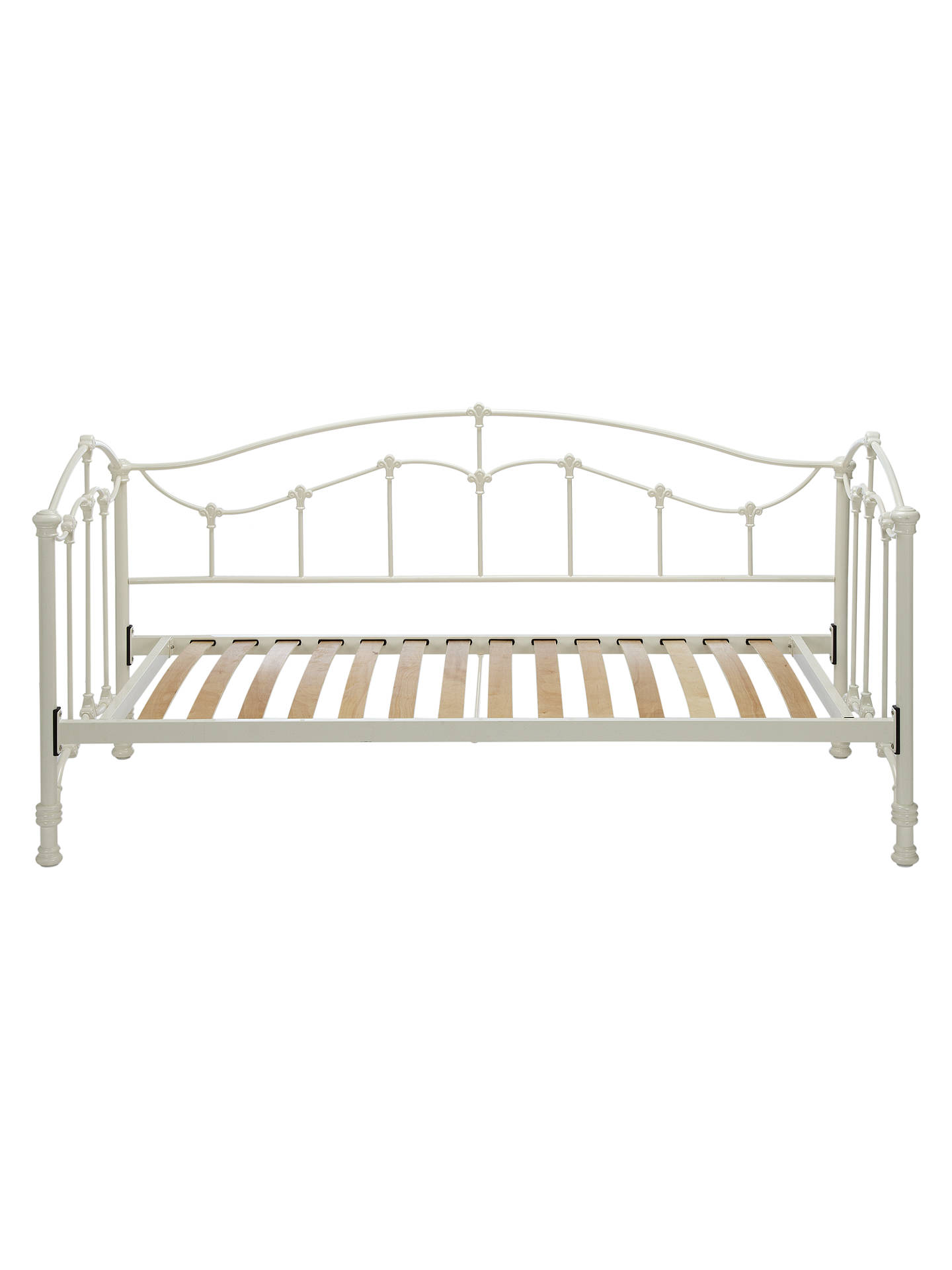 john lewis daisy day bed frame single cream at john. Black Bedroom Furniture Sets. Home Design Ideas