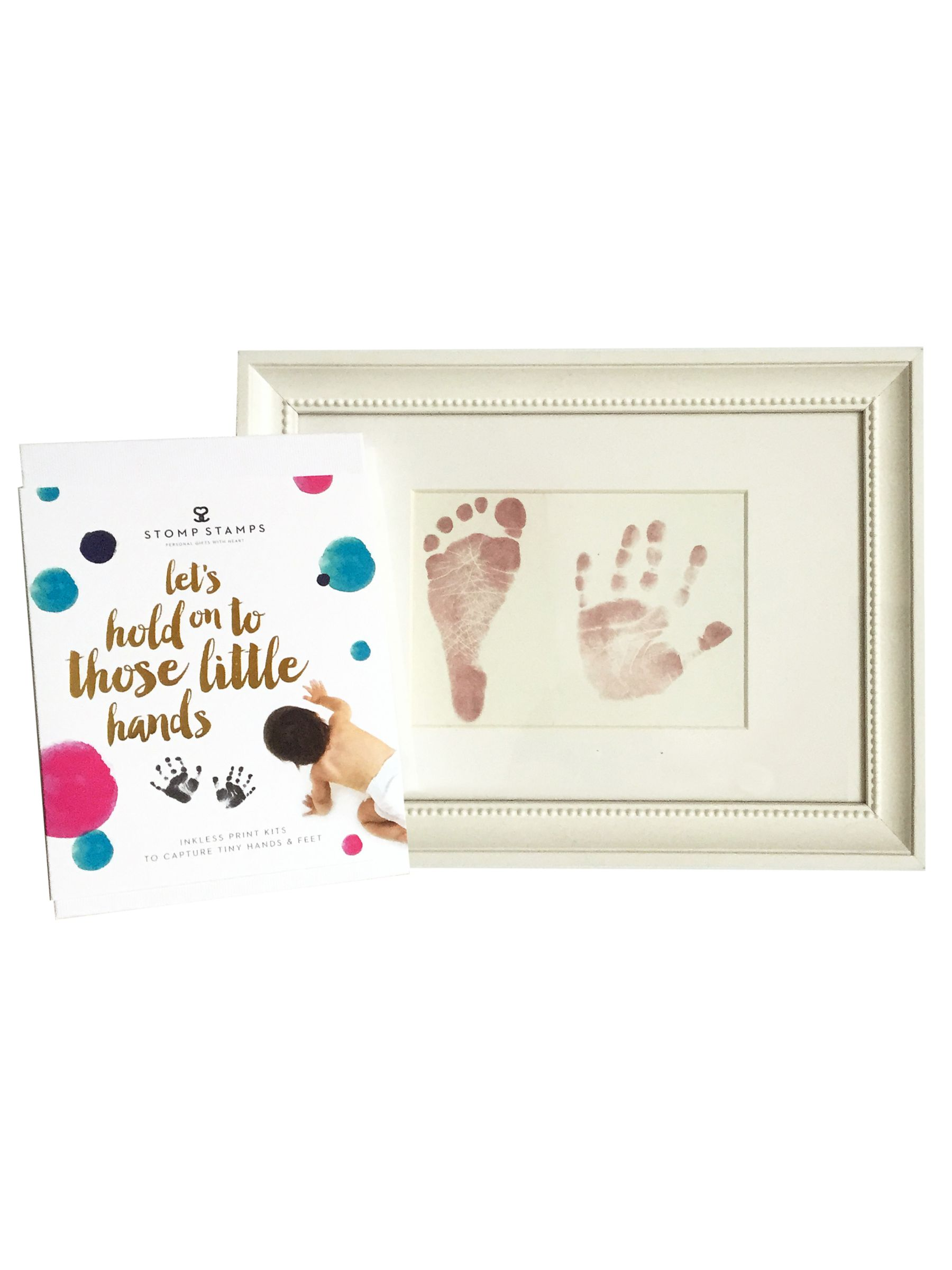 StompStamps StompStamps Magic Inkless Hand and Foot Imprint Kit