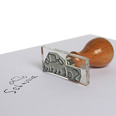 Buy StompStamps Personalised Family Signature Stamp, Small Online at johnlewis.com