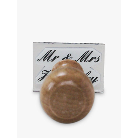 Buy StompStamps Personalised Mr & Mrs Stamp Online at johnlewis.com