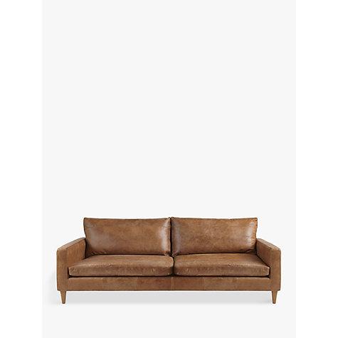 Sofas john lewis john lewis bailey grand 4 seater semi for Leather sofa 7 seater