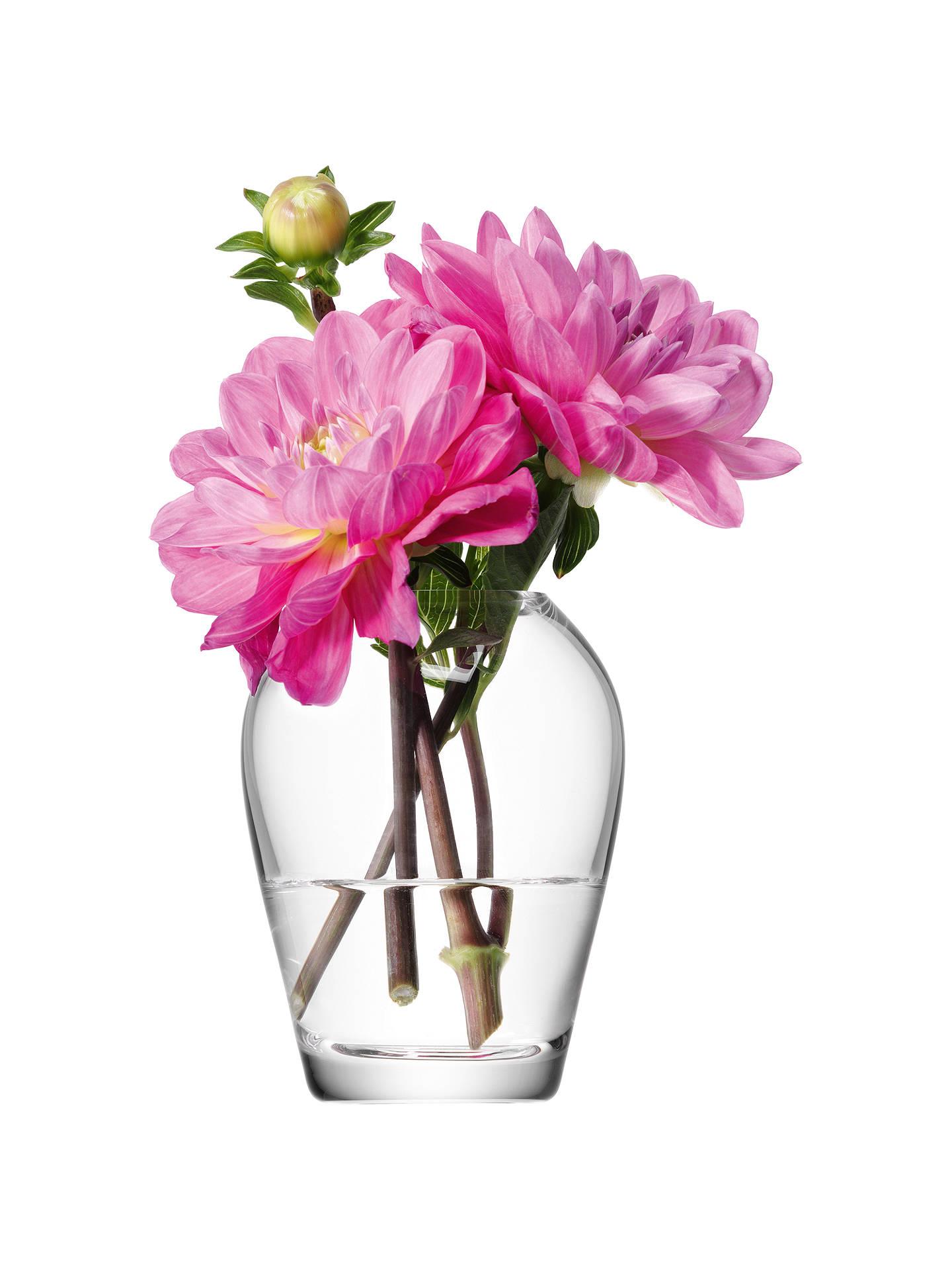 Lsa flower mini bouquet vase clear at john lewis partners buylsa flower mini bouquet vase clear online at johnlewis izmirmasajfo