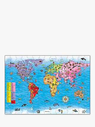Orchard Toys World Map Jigsaw Puzzle & Poster, 150 Pieces
