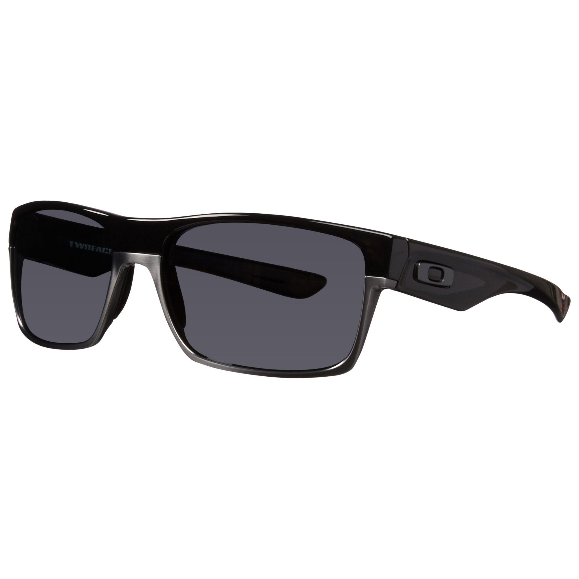 c33f3e2717 Oakley 009189 Polarised Twoface™ Rectangular Frame Acetate Sunglasses