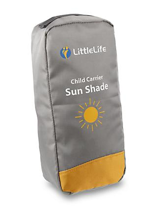 LittleLife Child Carrier Sunshade, Grey
