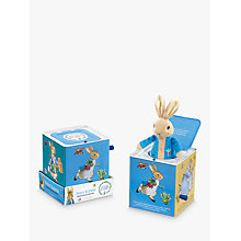 Buy Beatrix Potter Peter Rabbit Jack in the Box Online at johnlewis.com