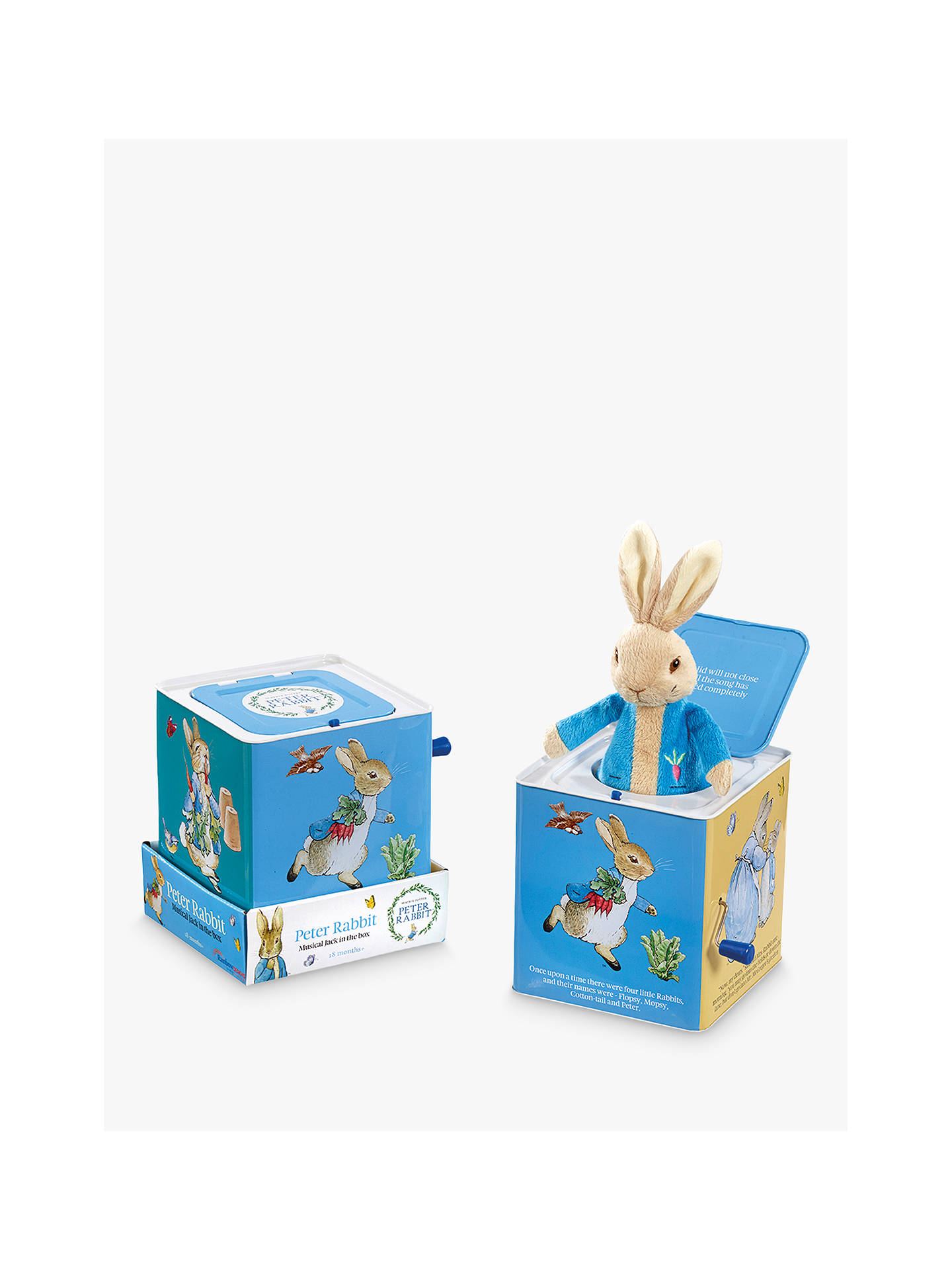BuyBeatrix Potter Peter Rabbit Jack in the Box Online at johnlewis.com