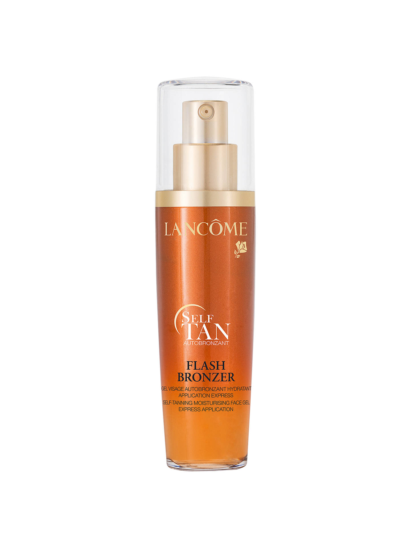 BuyLancôme Flash Bronzer Self-Tanning Face Gel, 50ml Online at johnlewis.com