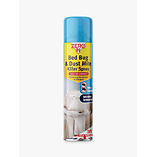 Buy Zeroin Bed Bug Killer Spray, 300ml Online at johnlewis.com