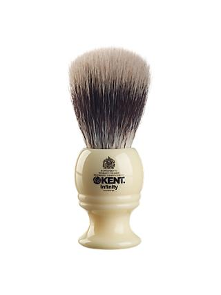 Kent Infinity Silvertex Synthetic Shaving Brush