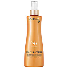 Buy Lancôme Soleil Bronzer Smoothing Protective Milk Mist SPF 30, 200ml Online at johnlewis.com