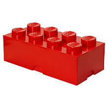 Buy The LEGO Movie 40041733 8 Stud Storage Brick Online at johnlewis.com