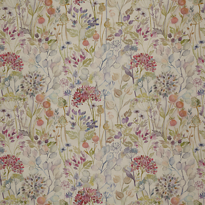 Voyage Hedgerow Linen Furnishing Fabric, Multi