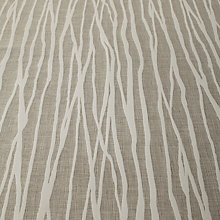 Buy John Lewis Undulated Stripe Furnishing Fabric, Natural Online at johnlewis.com