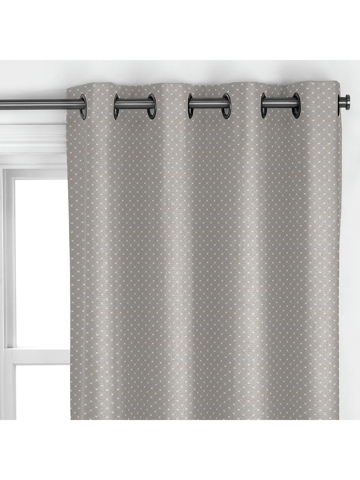 BuyJohn Lewis & Partners Provence Curtain, Pearl Grey Online at johnlewis.com