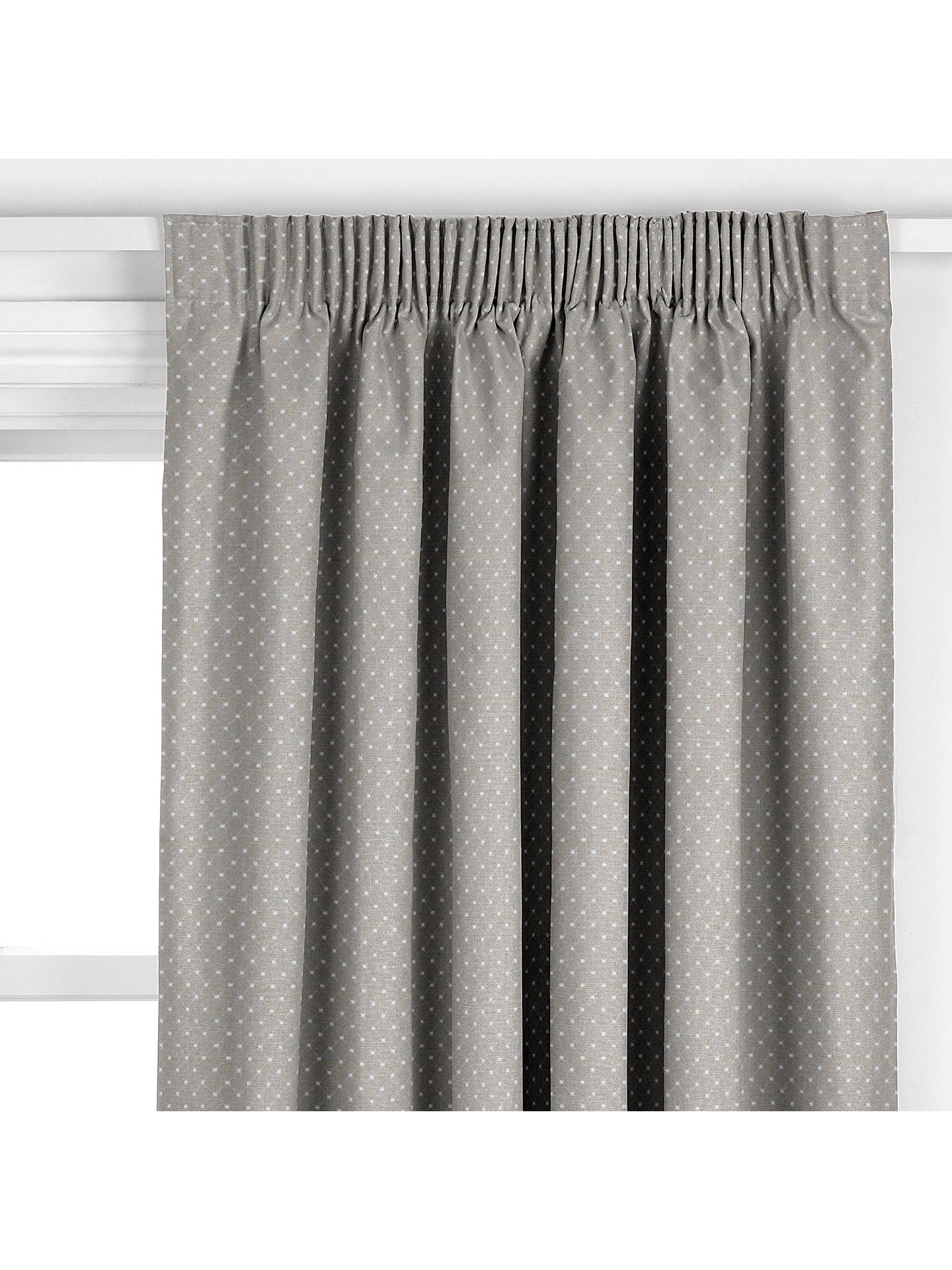 Buy John Lewis & Partners Provence Made to Measure Curtains, Pearl Grey Online at johnlewis.com