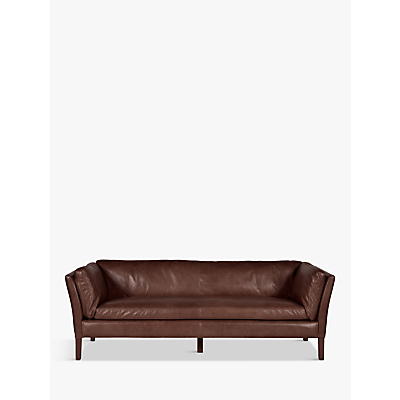 Halo Groucho Large Leather Sofa