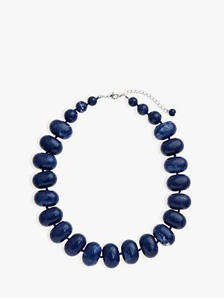 John Lewis & Partners Potato Bead Statement Necklace