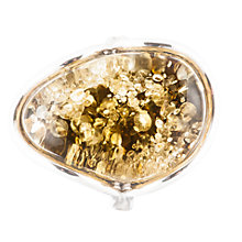 Buy Be-Jewelled Sterling Silver Green Amber Ring Online at johnlewis.com