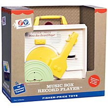 Buy Fisher-Price Music Box Record Player Online at johnlewis.com