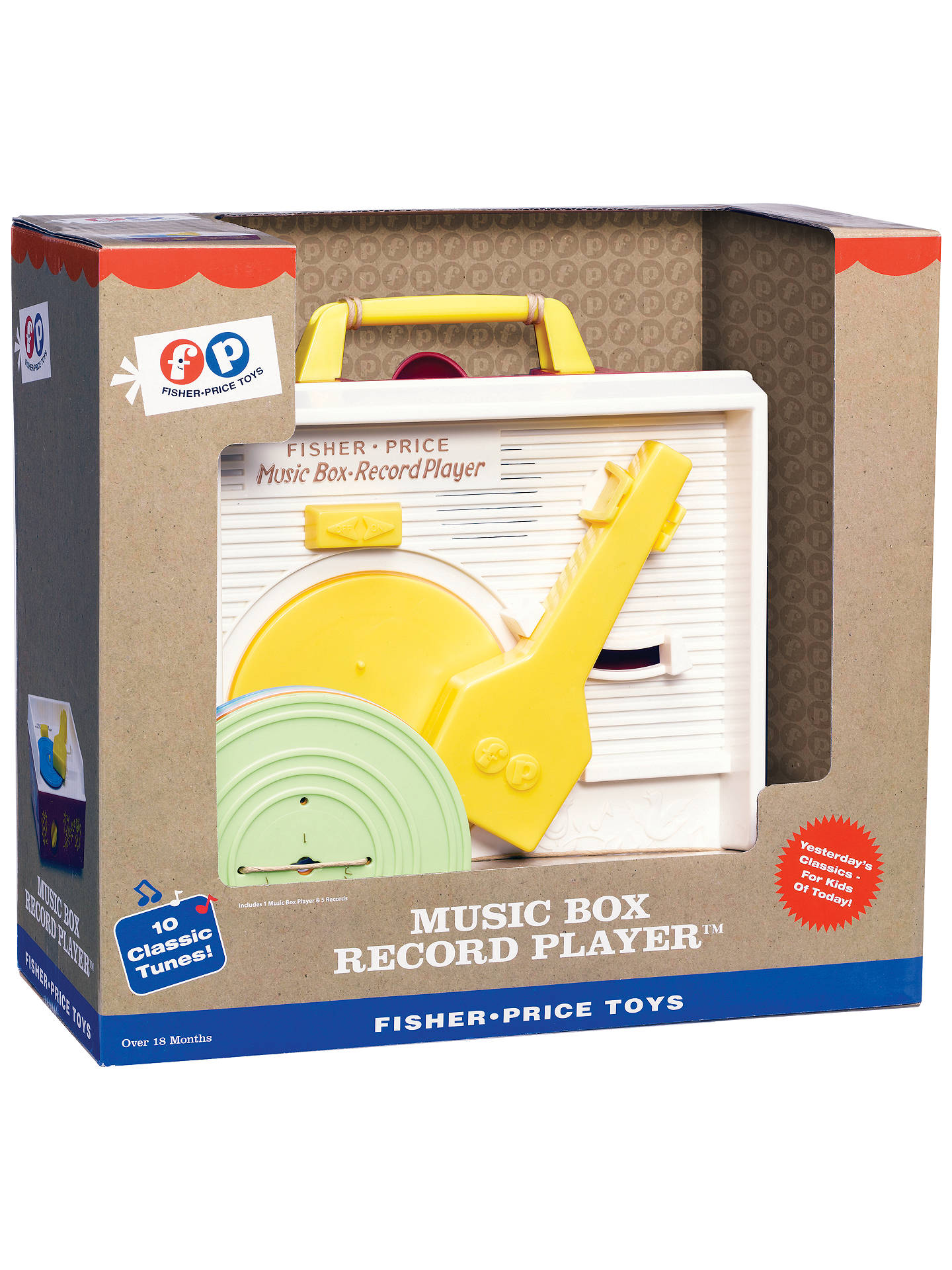 BuyFisher-Price Music Box Record Player Online at johnlewis.com