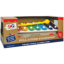 Buy Fisher-Price Pull-a-Tune Xylophone Online at johnlewis.com