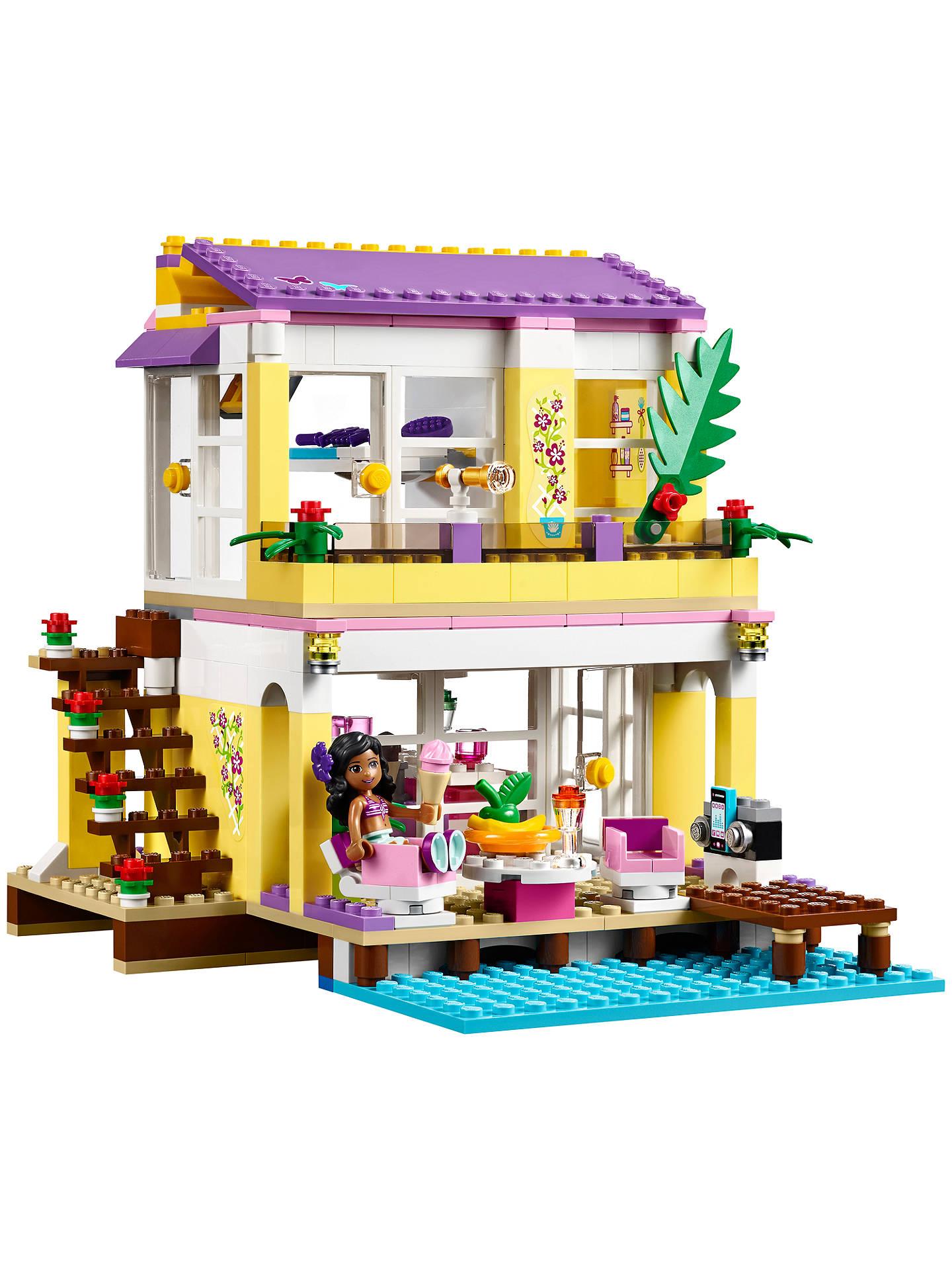 LEGO Friends Stephanie's Beach House at John Lewis & Partners