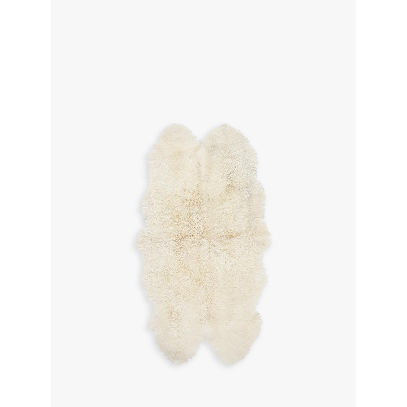 buy john lewis sheepskin rug quad online at