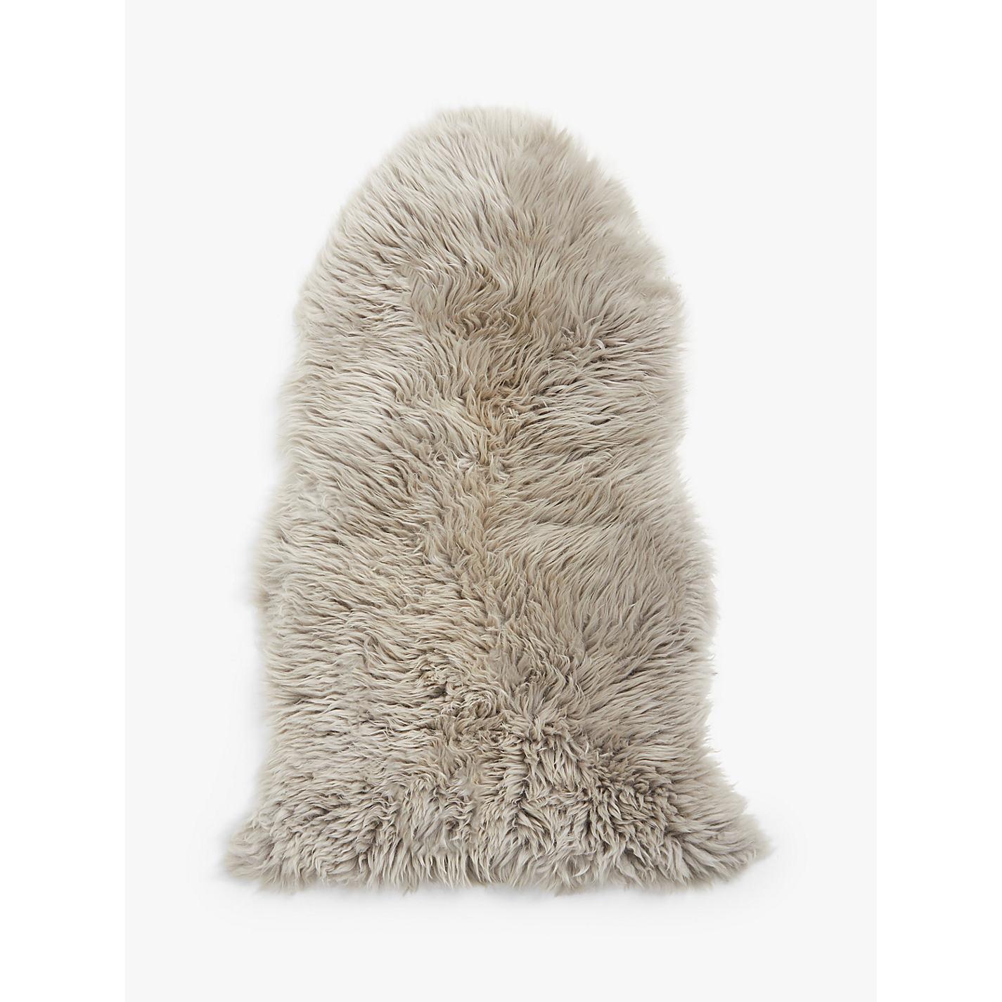 buy john lewis single sheepskin rug | john lewis