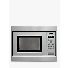 Buy Neff H53W50N3GB 50cm Built-In Microwave, Stainless Steel Online at johnlewis.com