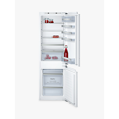 Image of Neff KI6863F30G 56cm Wide 60-40 Integrated Upright Fridge Freezer - White