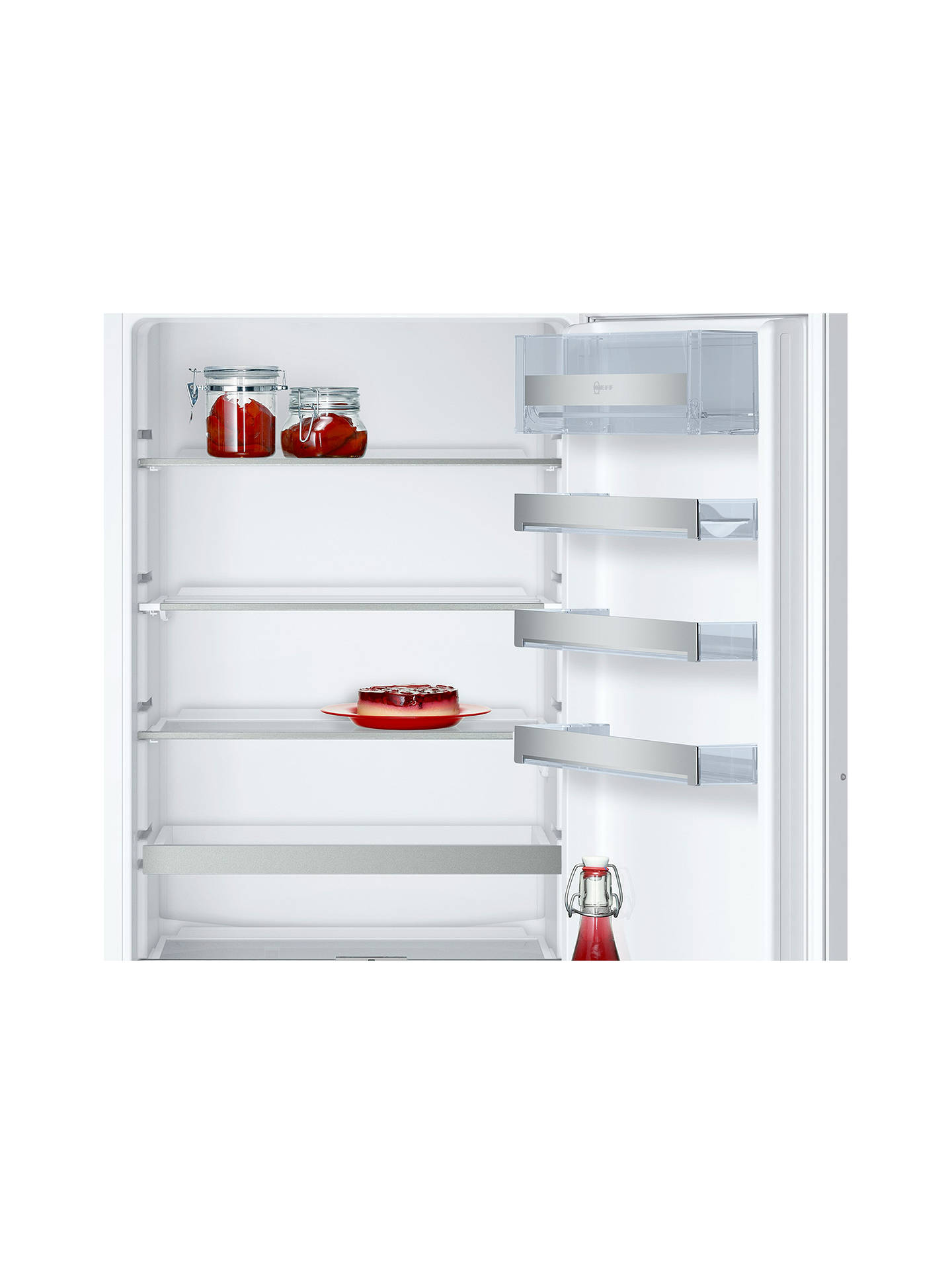 Buy Neff KI6863F30G Integrated 60/40 Fridge Freezer,  Fixed Door Hinge, A++ Energy Rating, 56cm Wide Online at johnlewis.com