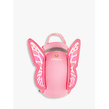 Buy LittleLife Butterfly Toddler Backpack, Pink Online at johnlewis.com