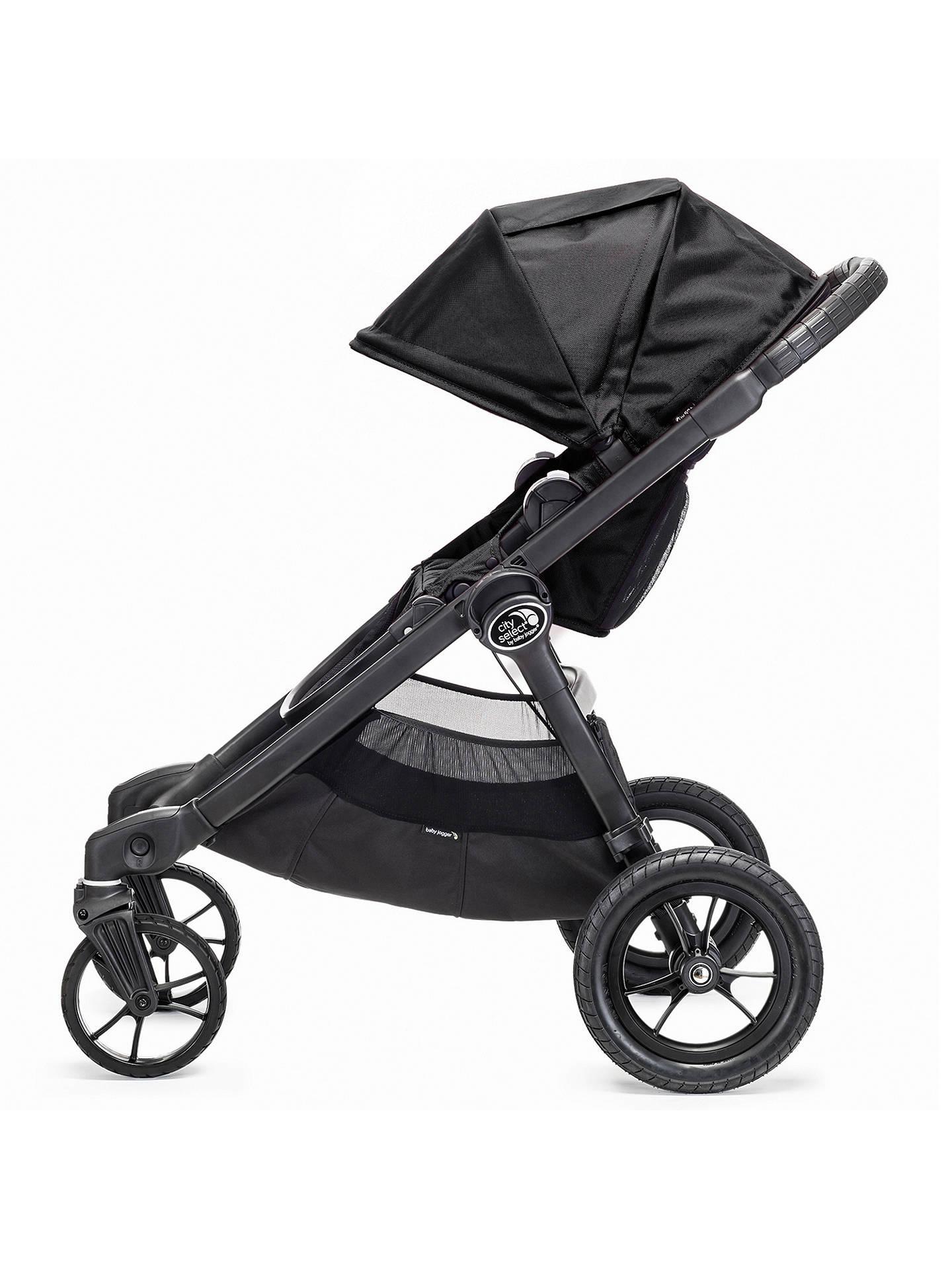 Baby Jogger City Select Pushchair Black At John Lewis