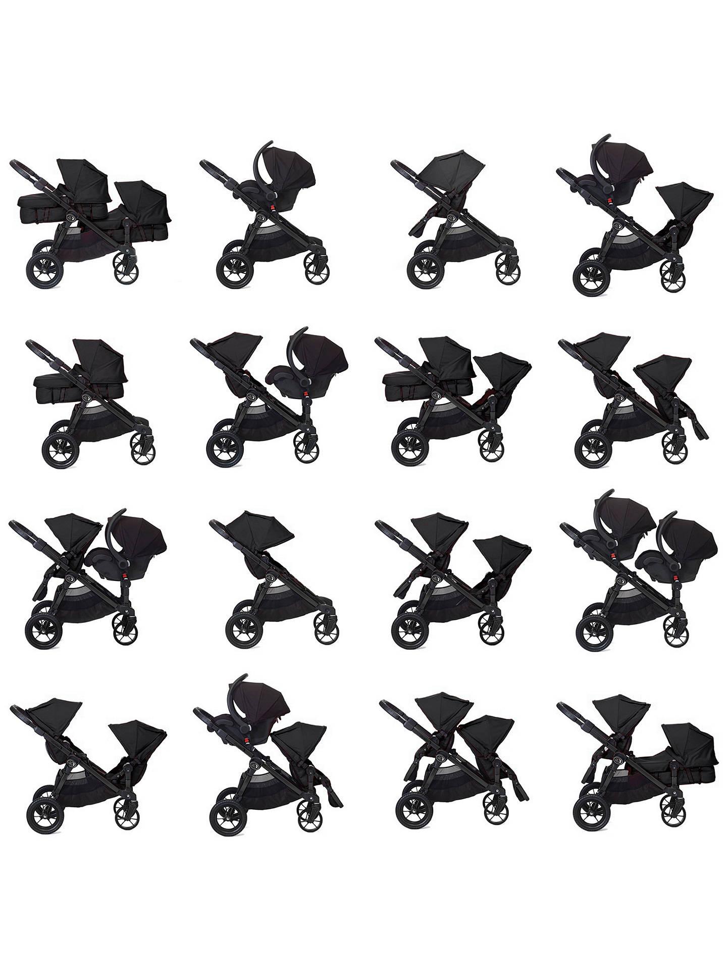 Baby Jogger City Select Pushchair Black At John Lewis Partners