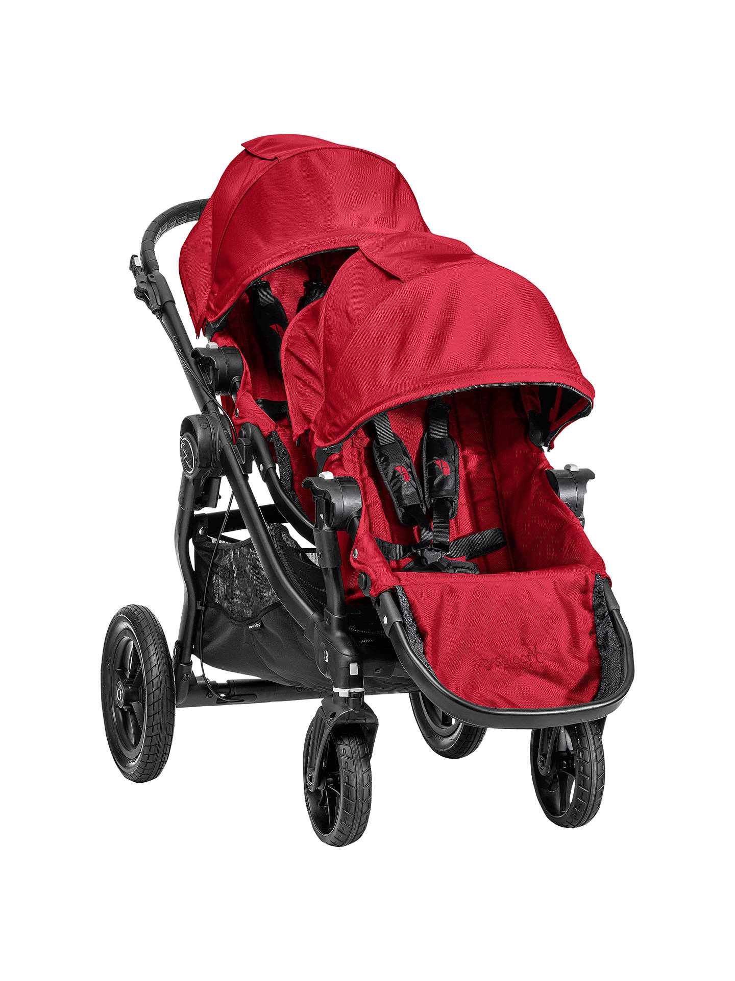 Baby Jogger City Select Second Seat Kit, Red at John Lewis ...