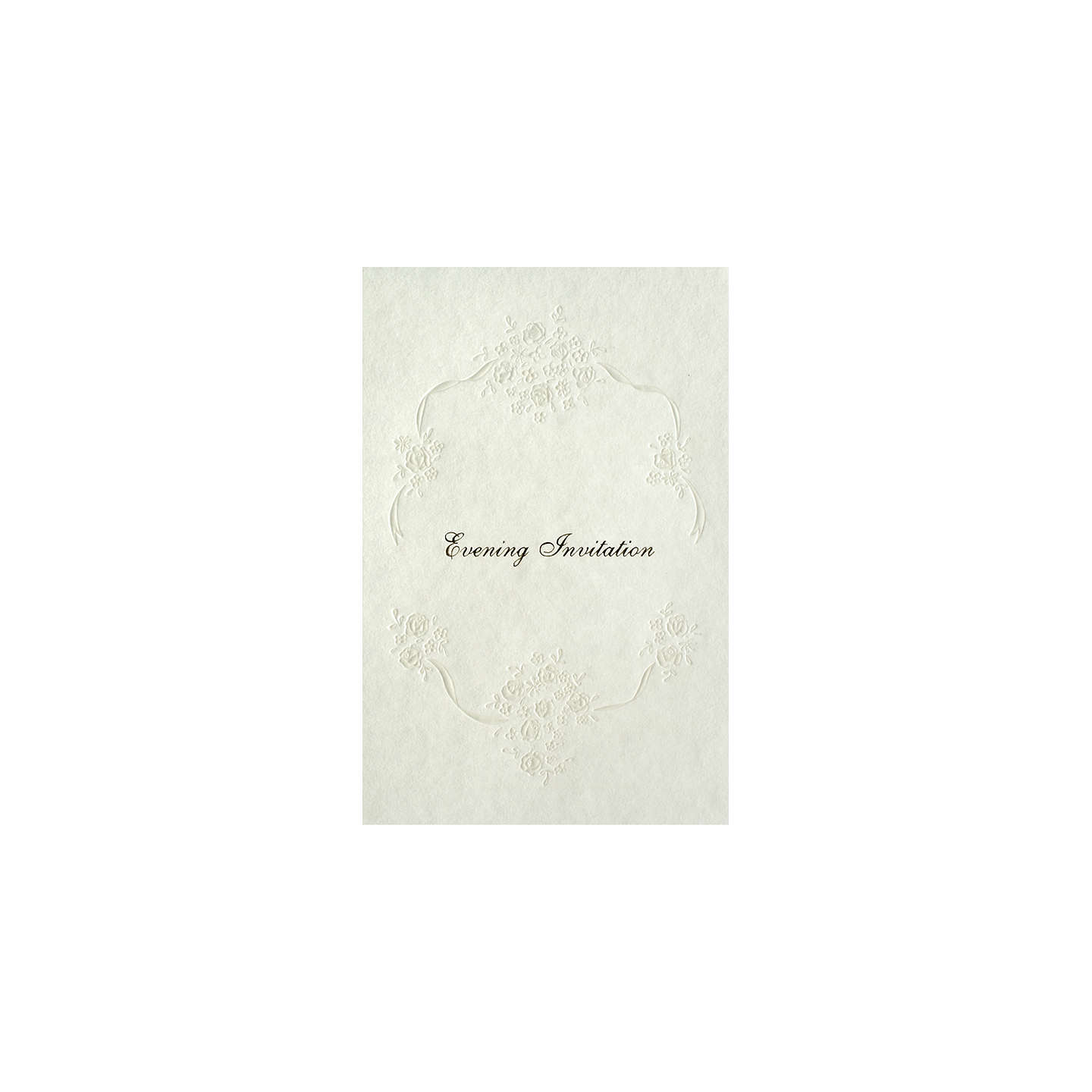 CCA Pearls Personalised Wedding Evening Invitations, Pack of 60 ...
