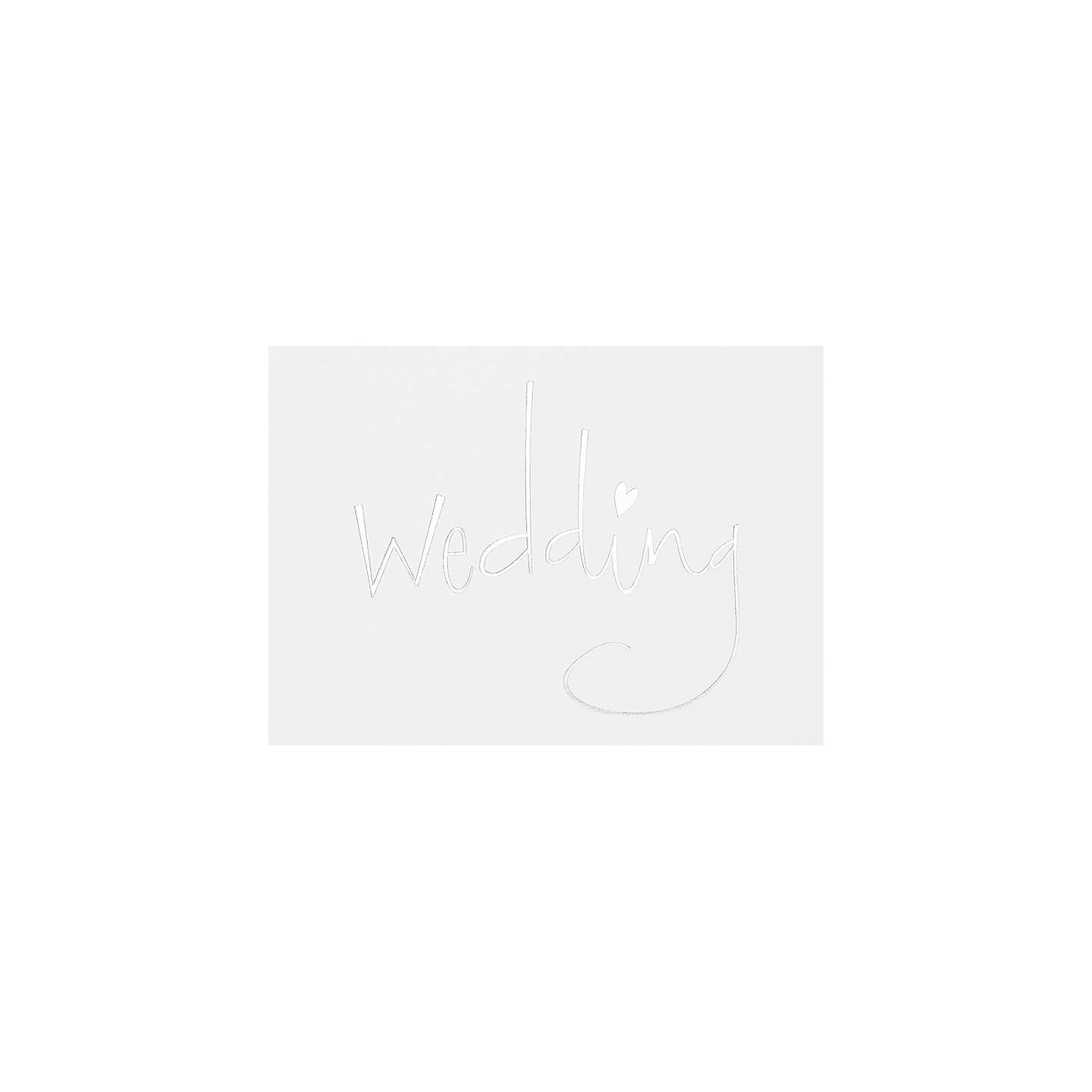 CCA Ancona Personalised Wedding Evening Invitations, Pack of 60 at ...