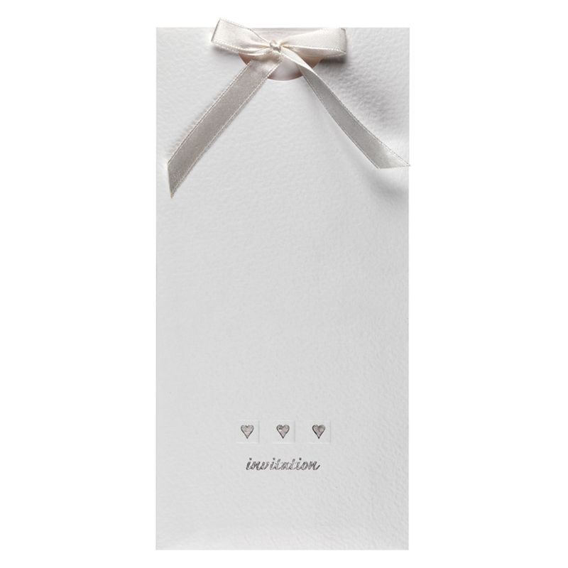 CCA Pocket Love Personalised Wedding Invitations, Pack of 60 at John ...