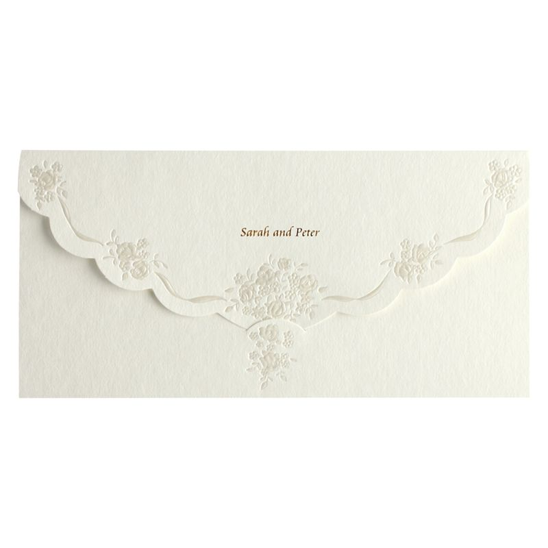 CCA Pearls Personalised Wedding Invitations, Pack | Bluewater ...