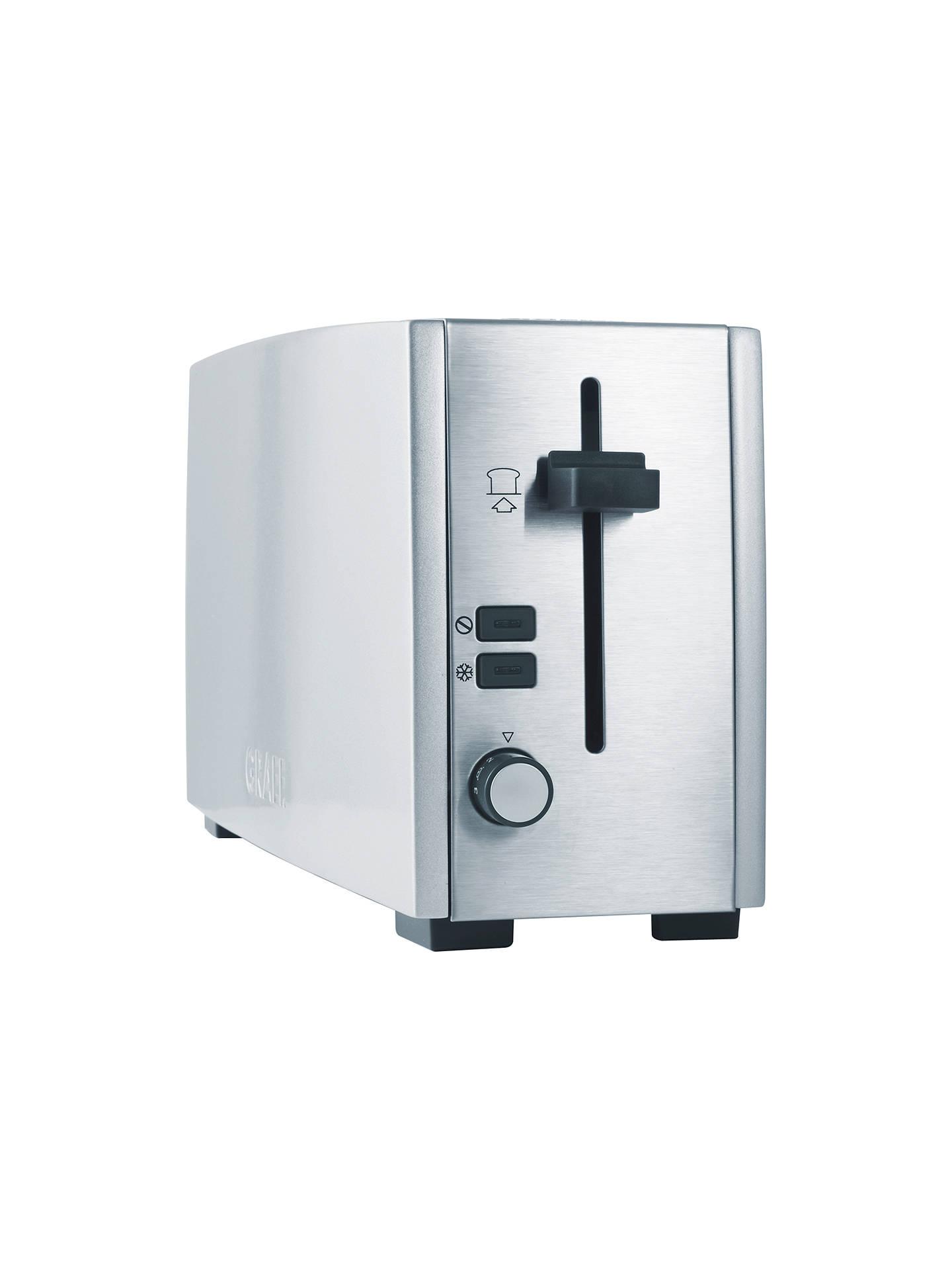 Graef long slot 2-slice toaster brushed silver free online slots play money