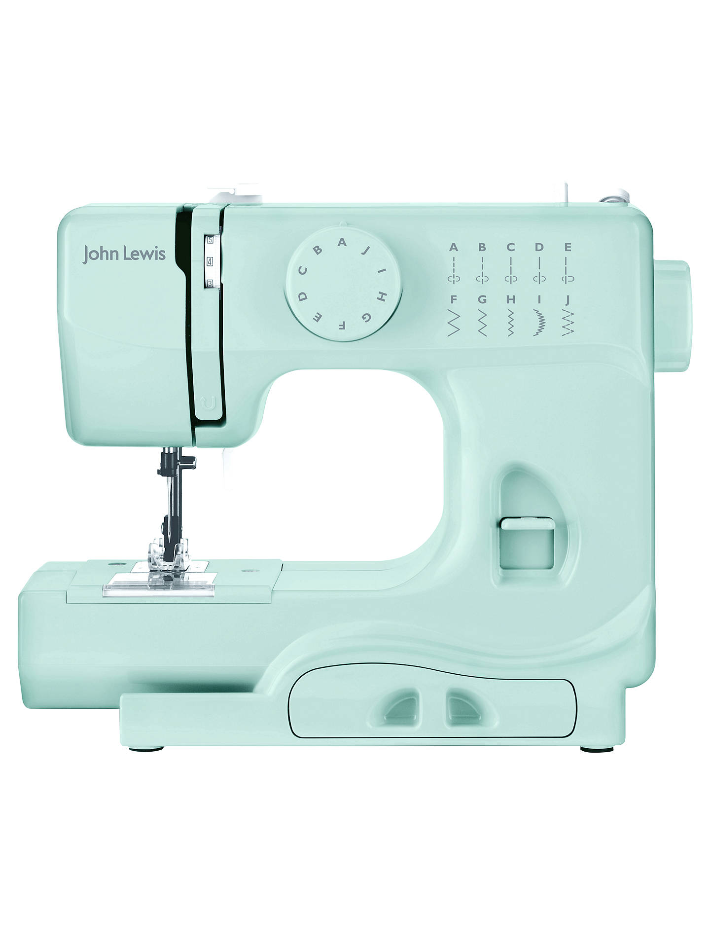Buy John Lewis Mini Sewing Machine, Spearmint Online at johnlewis.com