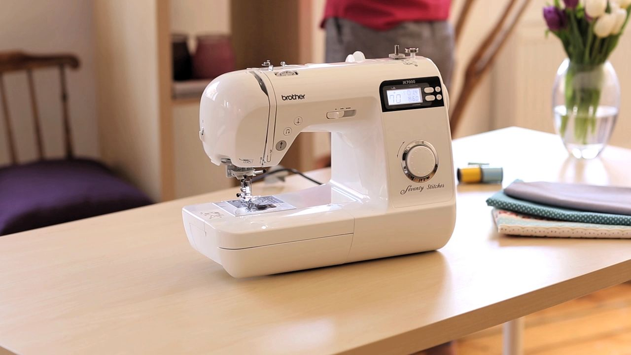 Brother Jk7000 Sewing Machine At John Lewis Partners Threading Diagram Pinterest