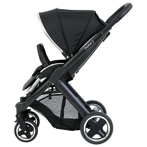 Buy BabyStyle Oyster 2 Pushchair Chassis and Seat, Black Online at johnlewis.com
