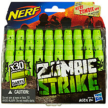 Buy Nerf Zombie Strike Dart Refill Pack Online at johnlewis.com